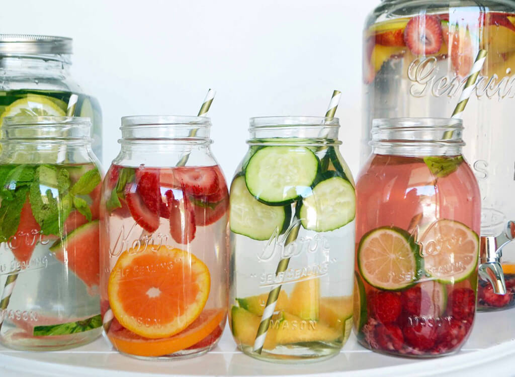 Detox Water Recipes for Fast weight loss