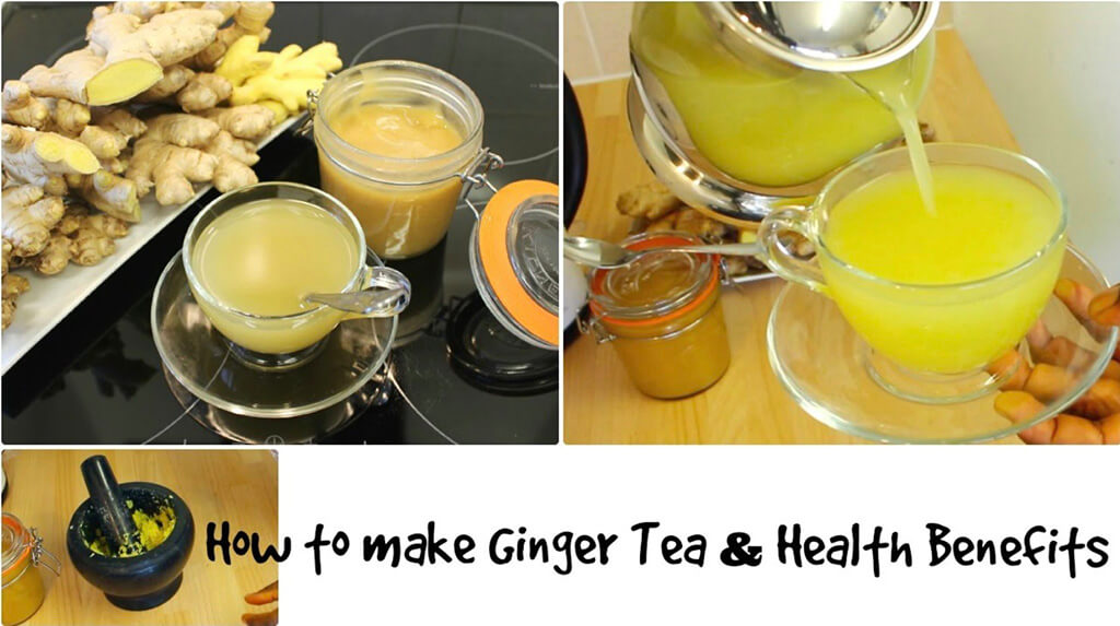 How to make ginger tea for lose weight
