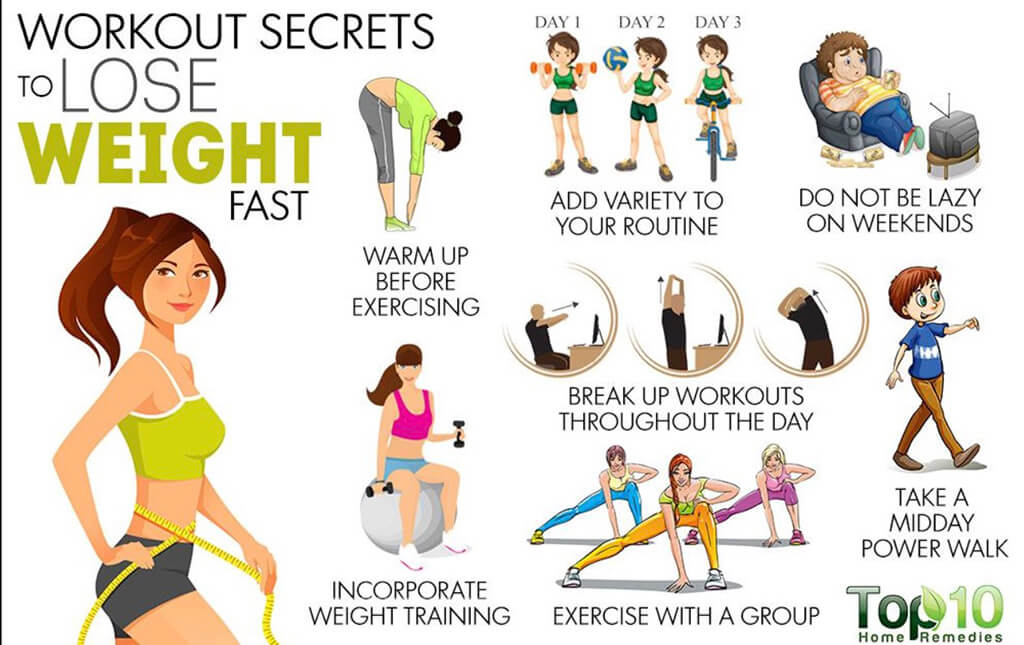 exercise regime for weight loss
