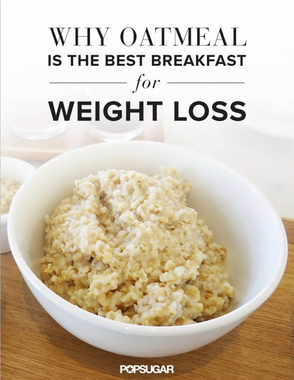 is oatmeal good for weight loss