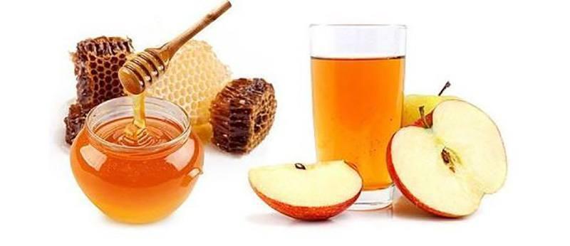 Apple cider vinegar with honey