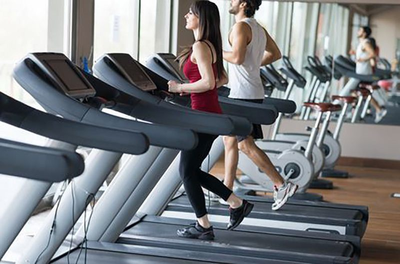 Run On The Treadmill