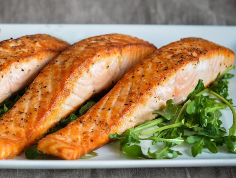 Salmon is not only nutritious but it also gives you a hand in getting slimmer