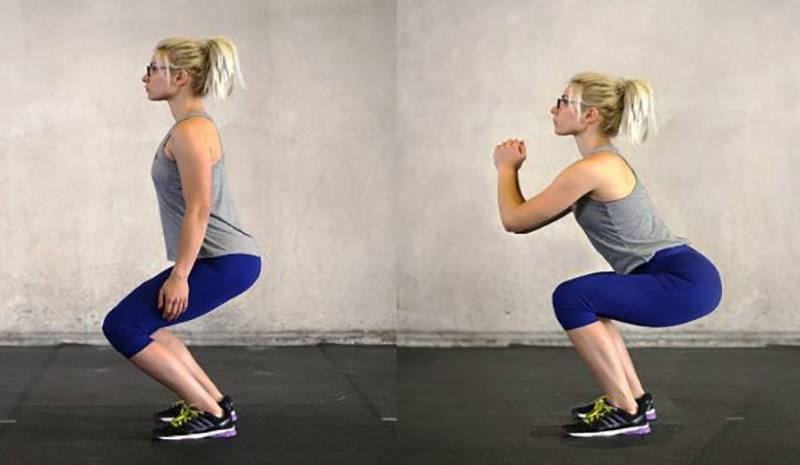 Traditional Squat form