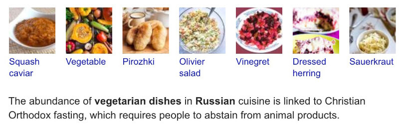 Top 5 Russian Vegan Dishes for a Date