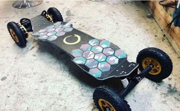 off road electric skateboard- have fun while getting fit with this leg workout